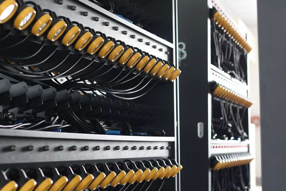 Close-up of NWCR Charger Rack 6