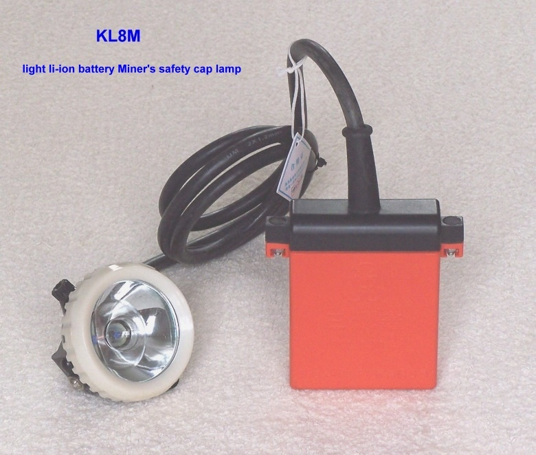 li-ion battery mineral lamp
