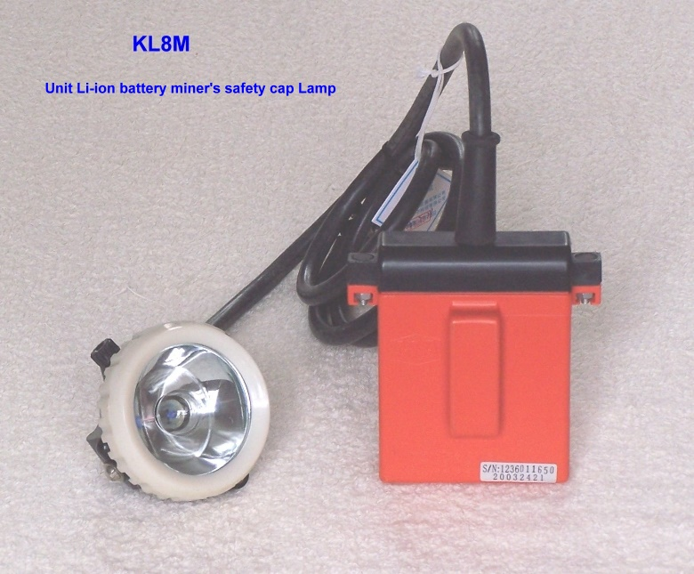 li-ion battery miner's lamp